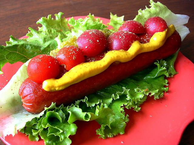 The Low Carb Lettuce Warp Dog via Merlin Mann