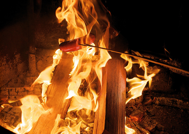 On An Open Fire (Nature's Grill) via Jamie McCaffrey