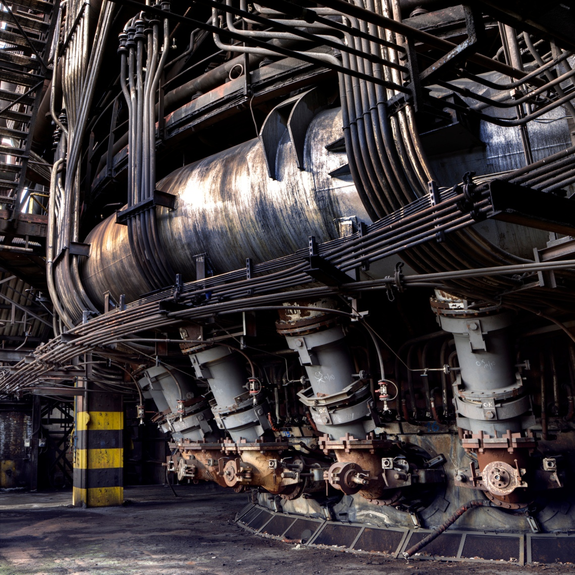 Arc furnace. Photograph by Forgotten Heritage Photography. Used with permission.