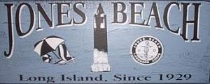 early july 1973 jones beach sign