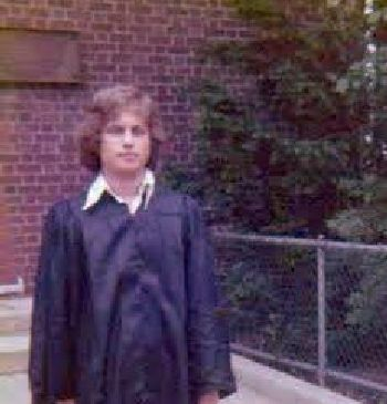 early june 1973 graduation photo