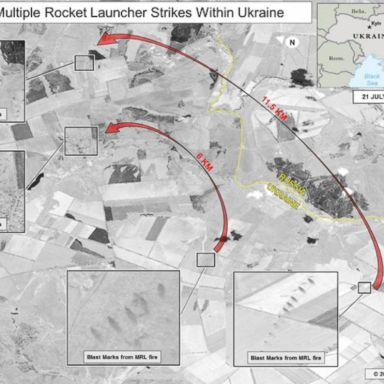 Putin Doesn't Care, Pictures Show Russia Now Firing Directly On Ukraine