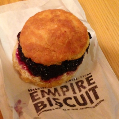 Midnight Cravings NYC – Empire Biscuit (The 4 Stages Of Eating A Biscuit)