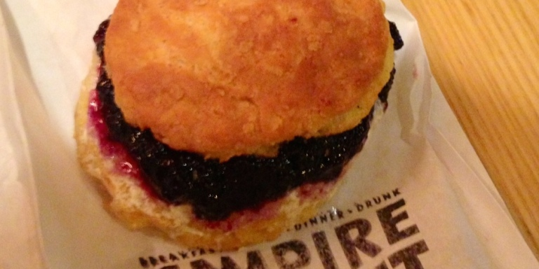 Midnight Cravings NYC – Empire Biscuit (The 4 Stages Of Eating ABiscuit)
