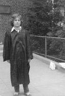 RG BC grad June 1973 B&W