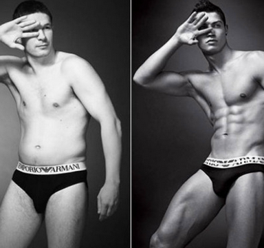 Here's What 'Real' Men Would Look Like If They Posed As Underwear Models
