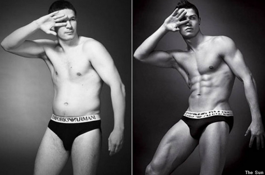 Here's What 'Real' Men Would Look Like If They Posed As UnderwearModels