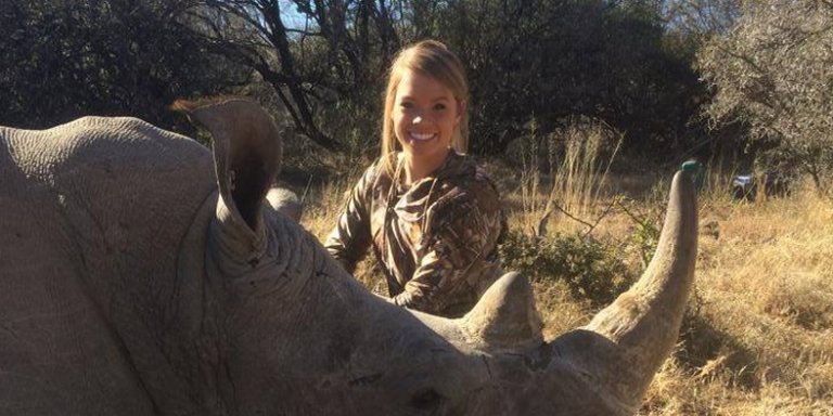 If You're Offended This Girl Hunted Big Game And You're Not A Vegan, I'm Sorry, But You'reStupid