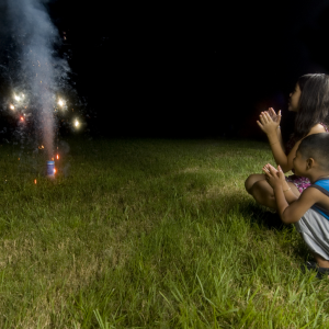 This 4th of July, I'm Making Fireworks With My Child