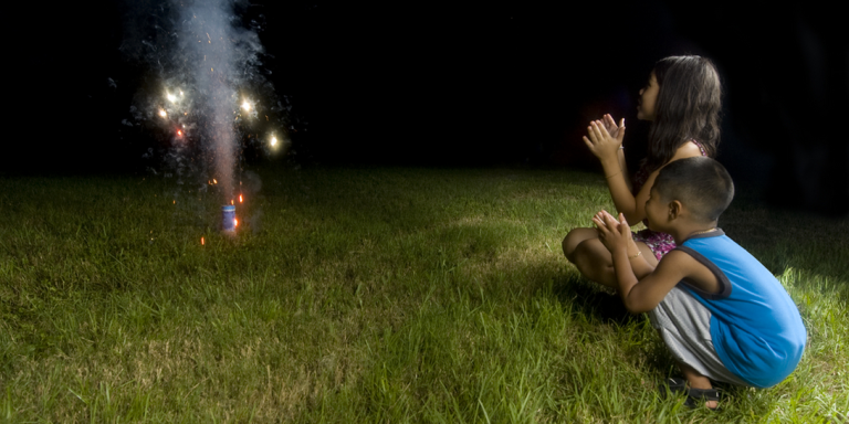 This 4th of July, I'm Making Fireworks With MyChild