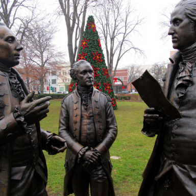 What The Founding Fathers Were Doing In Their 20s
