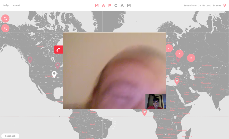 His name was Matt, from Leeds. He was in the middle of laughing when I grabbed this screenshot.