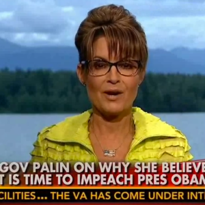 """Obama Is An Imperial President Who Makes Up His Own Laws And Should Be Impeached,"" Says Sarah Palin"