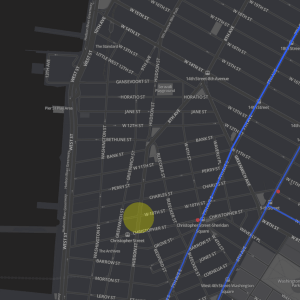 This Interactive Data Visualization Map Of A Life Of A New York City Taxi Is Mesmerizing