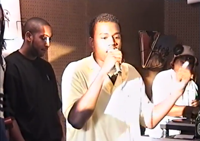 Watch A 19 Year-Old Kanye West Freestyle Rap In1996