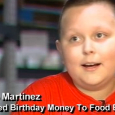 Awesome 10-Year-Old Boy Asks For Food Bank Donations Instead Of Birthday Gifts