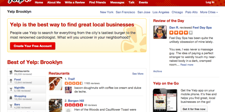 5 Reasons Why Yelp Is Actually The Best Dating Site No One's Using For Dating