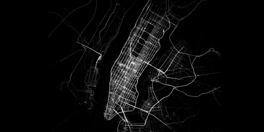 This Incredibly Sleek Data Visualization Shows Us How We Move Around InCities