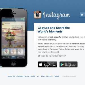 Dear Instagram, I'd Like To Take This Opportunity To Say, 'Thank You'