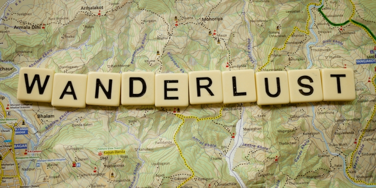 Wanderlust On The Mind And Home In theHeart