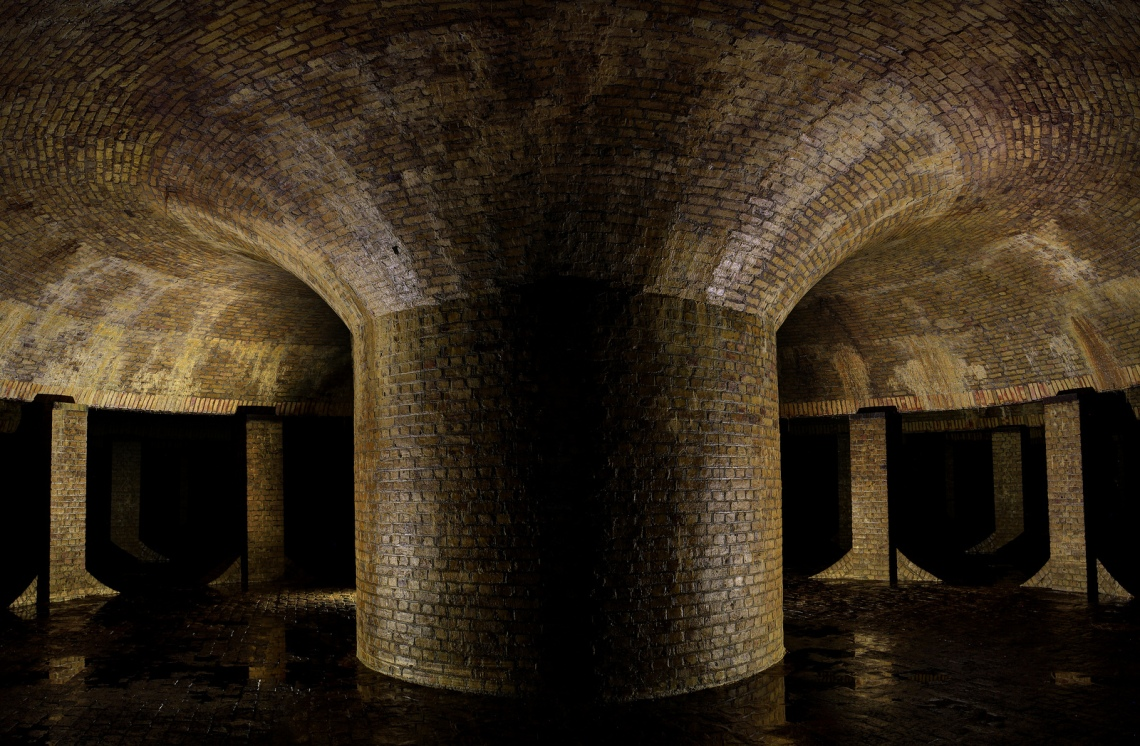 Underground Reservoir.  Photograph by Forgotten Heritage Photography. Used with permission.
