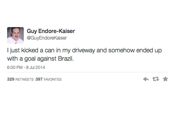 Germany Destroyed Brazil In the World Cup And Twitter Decided To Do TheSame