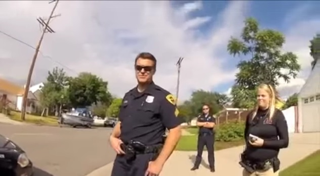 Man Records Moments After He Learned Police Had Shot His Dog, ConfrontsCops