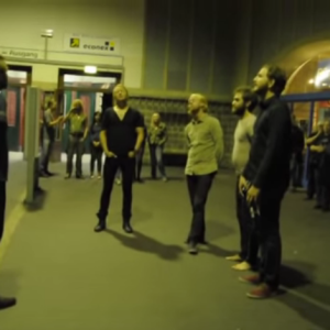 Listen To This Haunting 800-Year-Old Song Bring An Entire Train Station To A Halt
