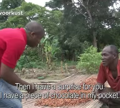 Watch This Cacao Farmer Taste Chocolate For The First Time