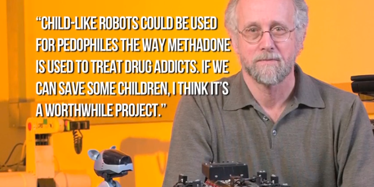 Scientists Propose Making Child Robots For Some People To Have Sex With