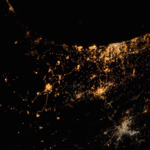 Astronaut Takes Photo Showing The Explosions In Israel And Gaza Can Be Seen From Space