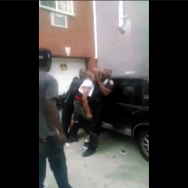 NYPD Cop Caught On Tape Stomping On A Suspect's Head…Over A Joint
