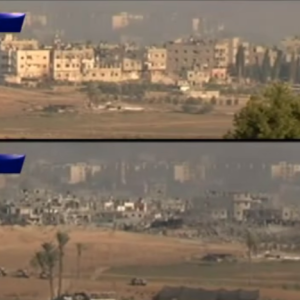 This Astonishing Video Shows An Entire Neighborhood In Gaza Being Destroyed In An Hour