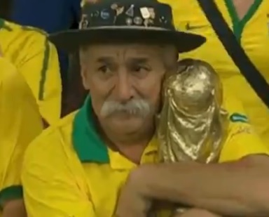 Here's A Video Of The World's Saddest Man Clutching His Broken Dreams