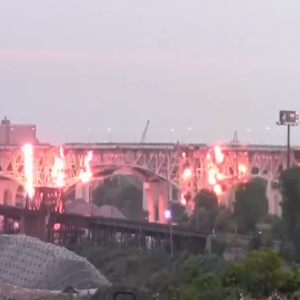 Did The Power Of LeBron's Cleveland Return Cause This Bridge To Explode?