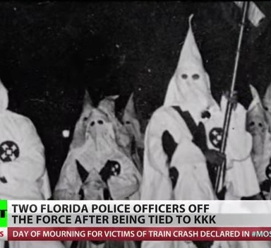Lazy KKK Members Abound In Central Florida Police Department