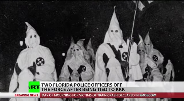 Lazy KKK Members Abound In Central Florida PoliceDepartment