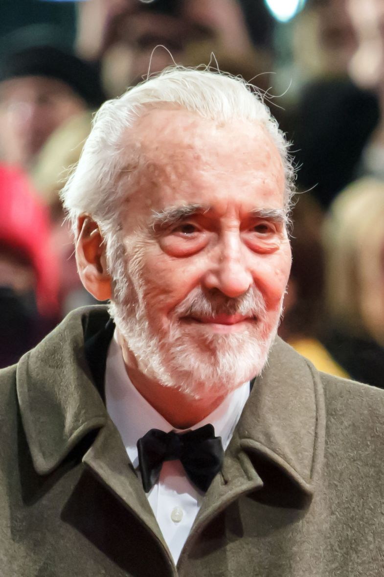 Christopher Lee at the Berlin International Film Festival 2013