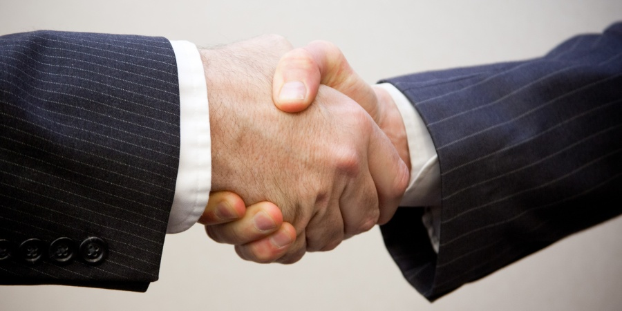 Please Bring Back The TraditionalHandshake