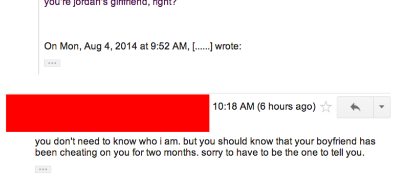 I Ruined A Relationship This Morning With One Email, And This Is TheConversation