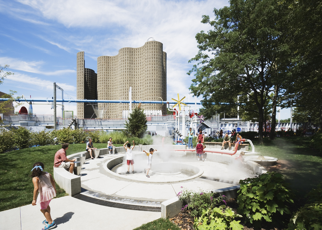 New York Hall of Science Playground, Queens, New York, BKSK Architects