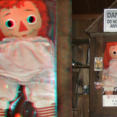 The Real Origin Story Of The Haunted Annabelle Doll