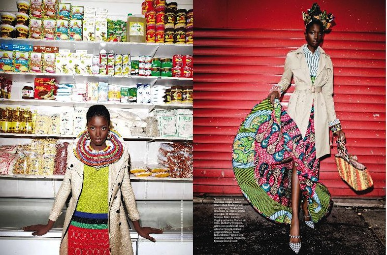 Awa Ceesay by Laura Villa Baroncelli and Manuele Geromini for D La Republica #777