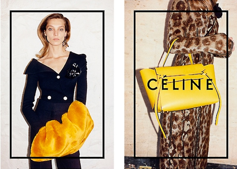 Celine Fall/Winter 2014 Campaign, shot by Jeurgen Teller.