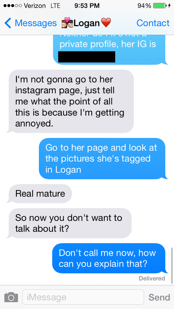 Live Blog: I'm Breaking Up With My Cheating Boyfriend Via Text Right Now, Here Are Photos Of The Conversation