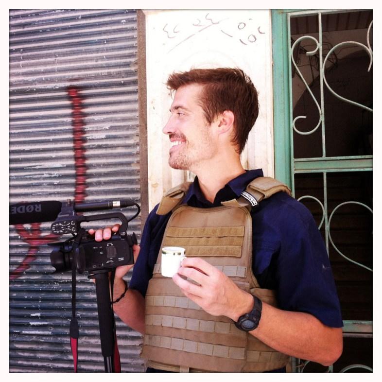 James Foley, Aleppo, Syria – 07/12. Photo: Nicole Tung