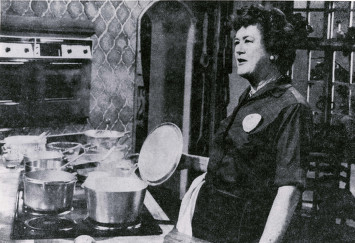 KUHT. Julia Child. 1953 - 2011. Special Collections, University of Houston Libraries. University of Houston Digital Library. Web. August 22, 2014. http://digital.lib.uh.edu/collection/p15195coll38/item/262.