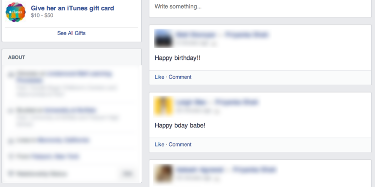 Let's Do Ourselves A Favor And Stop Saying 'Happy Birthday' OnFacebook