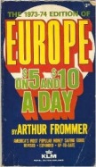 late august 1973 europe on $5 a day