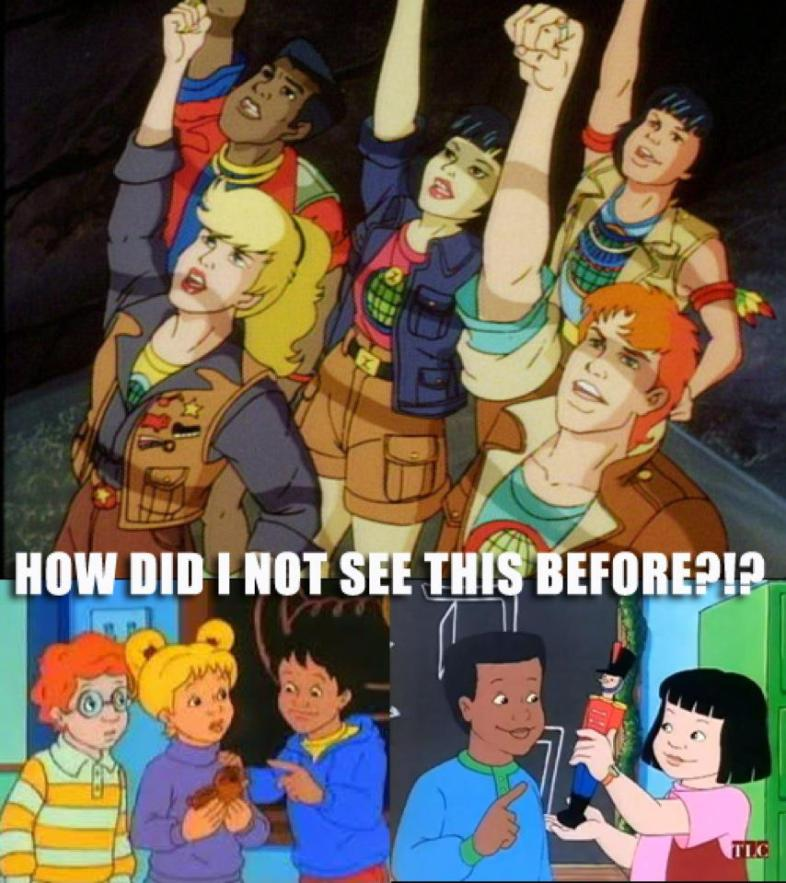 Captain Planet And The Planeteers: Season 1 & Jamie Steinheimer's Facebook